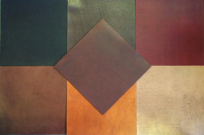 ARCHITECTURAL LEATHER FLOOR TILES