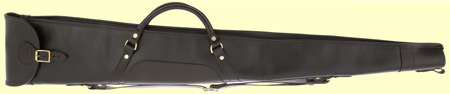 Leather Shotgun Slip zip and flap