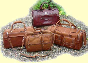 Leather Holdalls
