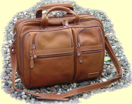 Leather Overnight Briefcase
