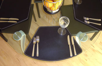 Leather Table mats